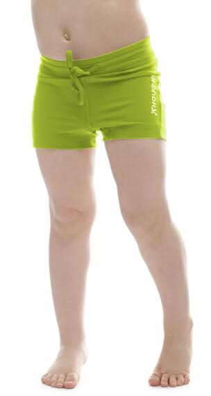 Houdini Kids Liquid Skin Shorts Trefoil Green